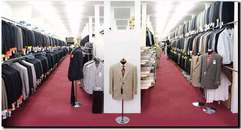 名古屋繊維問屋街 紳士服卸のエース
